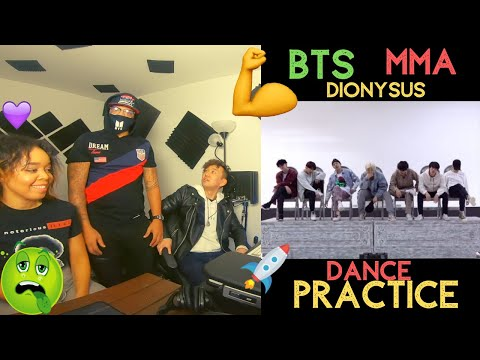 BTS (방탄소년단) 2019 MMA 'Dionysus' Dance Practice – KITO ABASHI REACTION