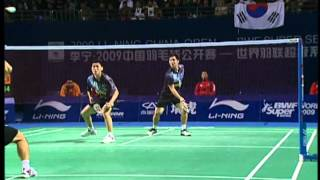 2009 China Open - MD Final - Jung Jae Sung / Lee Yong Dae vs. Koo Kien Keat / Tan Boon Heong