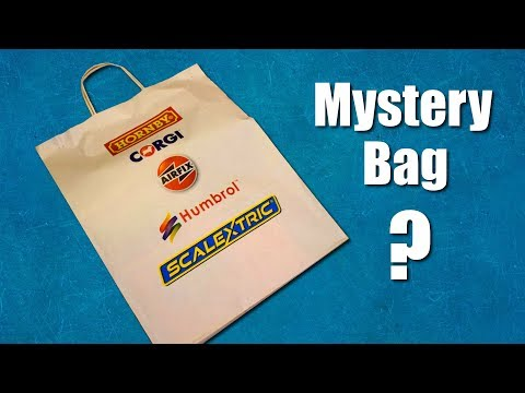 Mystery Bag! Hornby, Scalextric, Airfix, Corgi and Humbrol Products Lucky Dip