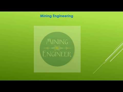 Syllabus For GATE  Mining Engineer