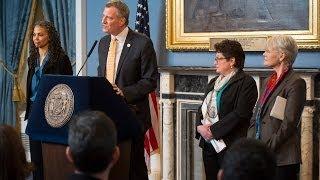 Mayor Bill de Blasio Announces Administration Appointments