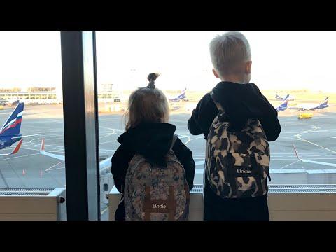 Vlog! Как Собраться В Поездку С Ручной Кладью На 4 Человек !
