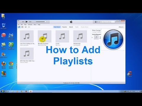 How to Create Playlists in iTunes 2015 - iTunes Playlist - Free & Easy