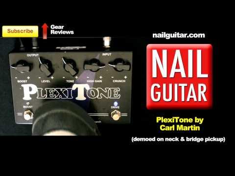 Plexitone Overdrive Guitar Pedal Demo - Carl Martin