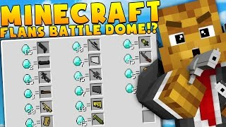 Minecraft MEGA WEAPONS MODDED BATTLEDOME CHALLENGE - Minecraft Mod | JeromeASF