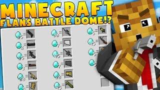 Minecraft MEGA WEAPONS MODDED BATTLEDOME CHALLENGE - Minecraft Mod