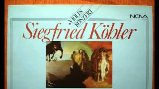 Koehler - VIOLIN CONCERTO (1981)  1/2