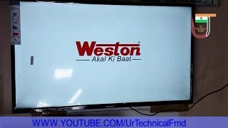 Weston 50 Inch FullHD1080 Smart LED TV | Unboxing And Quick Review | 122 Cms Class tv