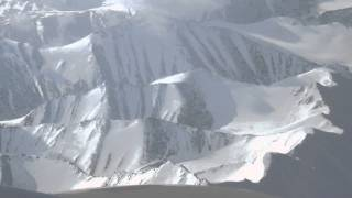 Leh Ladakh range from aircraft