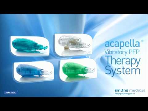 Acapella Vibratory PEP Mucus Clearance Device