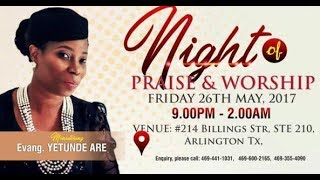 Download Video Night of Worship & Praise With Yetunde Are / Peter K. Adeshola (LIVE) MP3 3GP MP4