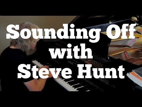 Allan Holdsworth Keyboardist Steve Hunt - Interview