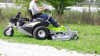Grillo FX27 Zero Turn Radius Mower