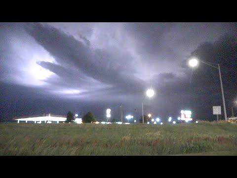 June 22, 2021 LIVE PM Severe Storm near York, Nebraska