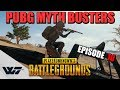 PUBG MYTH BUSTERS #10: Survive a grenade while standing next to it, Ride a vehicle while standing
