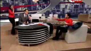 شاهدوا مسخرة و انحطاط الاعلامى المصري
