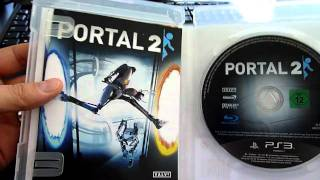 Portal 2 (PS3) unboxing video!