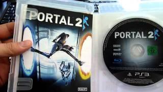 Portal 2 (PS3) unboxing video!