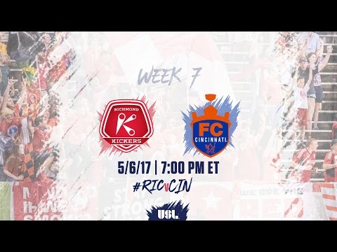 USL LIVE - Richmond Kickers vs FC Cincinnati 5/6/17