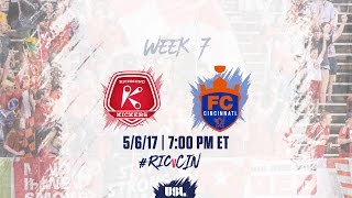 Richmond Kickers vs FC Cincinnati full match