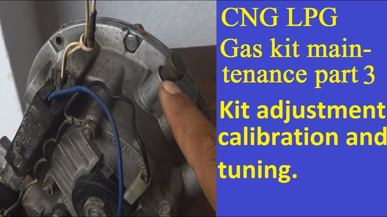 car cng gas kit repair and maintenance setting and tuning [ 1280 x 720 Pixel ]