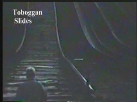 Palos Park IL - 1957 - Toboggan Slides