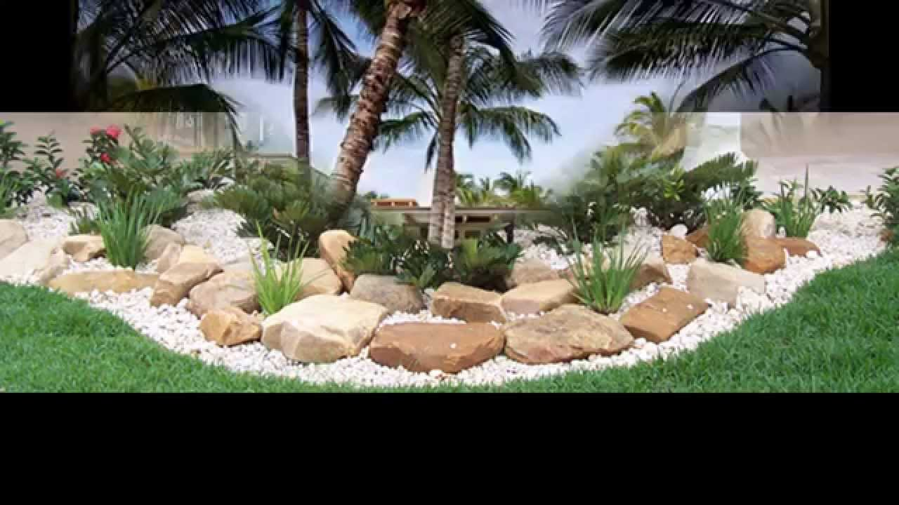 exotic tropical landscaping ideas