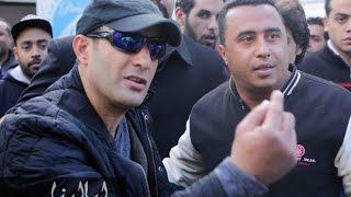 بالفيديو : احمد السقا يقطع الطريق اكثر من 6 ساعات لتصوير مشاهد فليمة الجديد من 30 سنة