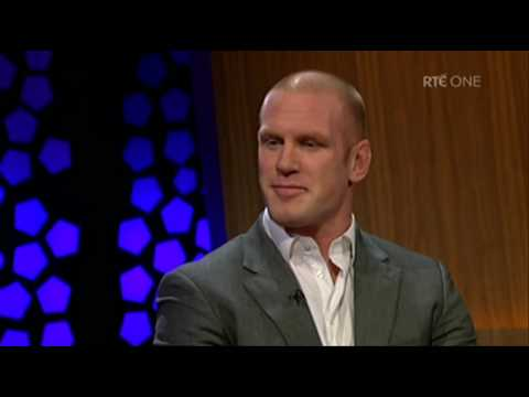 Paul O'Connell confirms his team mate uses sunbeds | The Late Late Show | RTÉ