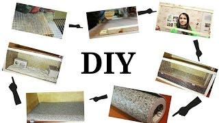 DIY Как мы делали клетку морским свинкам)