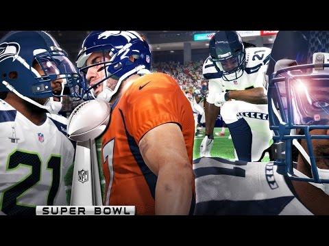 Madden 16 Career Mode Gameplay - SUPERBOWL! Seahawks vs Broncos Ep. 18