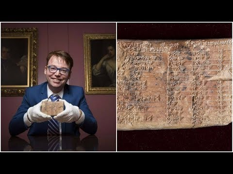 Experts Translated This 3,700 Year Old Tablet, And The Discovery They Made Has Rewritten History