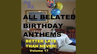 Happy Belated Birthday, Pete!