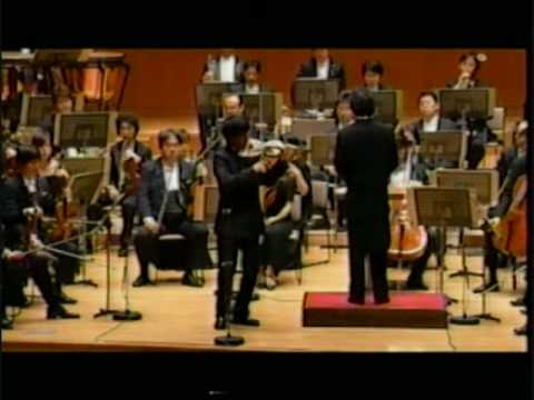Dan Zhu plays Brahms Violin Concerto 1st mvt  Cadenza
