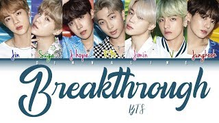 How Would BTS Sing 'BREAKTHROUGH' By TWICE(Color Lyrics Eng/Rom/Han)(FANMADE)
