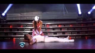 Showmatch 2012 - Andrea Rincón bailó un regaettón de alto voltaje