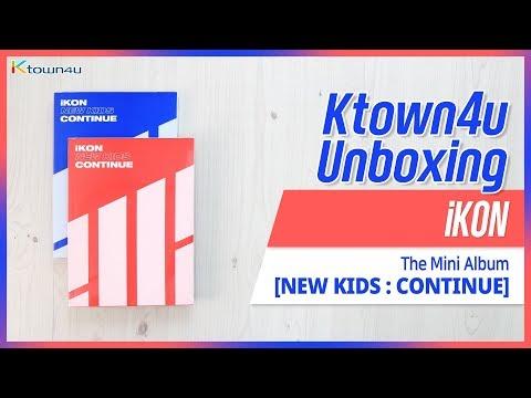 [Ktown4u Unboxing] IKON - Mini Album [NEW KIDS: CONTINUE] 아이콘 언박싱