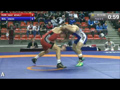 Brothers Mihaly and Peter Nagy freestyle and greco-roman wrestling highlights