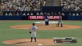 MLB 2K14 Atlanta Braves Vs Toronto Bluejays (Ervin Santana Vs R. A. Dickey)