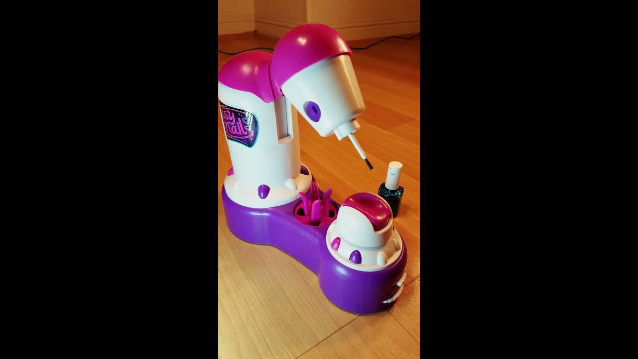 Easy Nails Nail Spa part 2 / automatic nail painter/ toy review ...