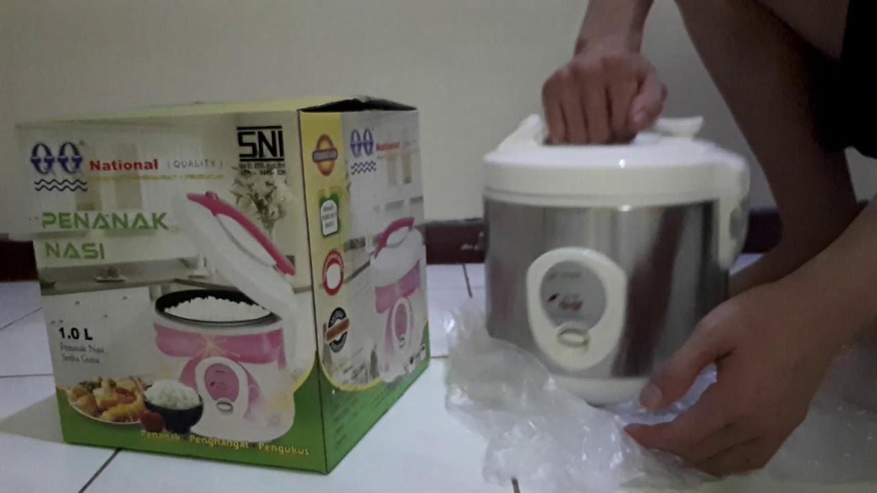 Review Unboxing Magic Com Merk Qq Atau National Baru Magiccom Alatdapur Alatrumahtangga Youtube