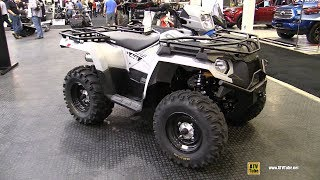 2018 Polaris Sportsman 570 Utility Edition ATV - Walkaround - 2017 Toronto Snowmobile ATV Show