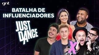 Just Dance Batalha de Influenciadores: Diva Depressão, Thay OG, John Drops, Maicon Santini e Gabriel
