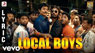 Listen to local boys official lyric video from the movie ethir neechal song name - singer dhanush, velmurugan music anir...