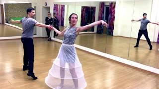 Свадебный танец под Шарль Азнавур - Une Vie D'amour!  За четыре урока.