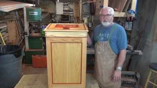 Ron's Hand Made Trash Can