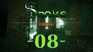 Snake Island Survival Minecraft #08