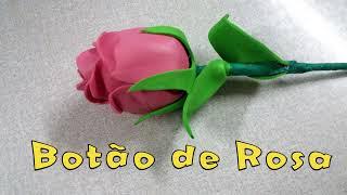BOTÃO DE ROSA DE EVA - Passo a Passo