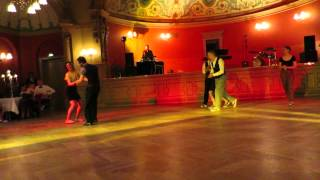 2015 Lindy Hop Auftritt ★ Mitternachtsball WS TUD Jens, Stefanie, Angelika, Thomas, Patrick & Marie