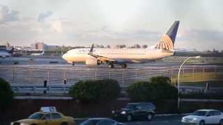 Planespotting - LaGuardia Airport NYC /Port Lotniczy LaGuardia NYC/ LGA Ebene beobachten